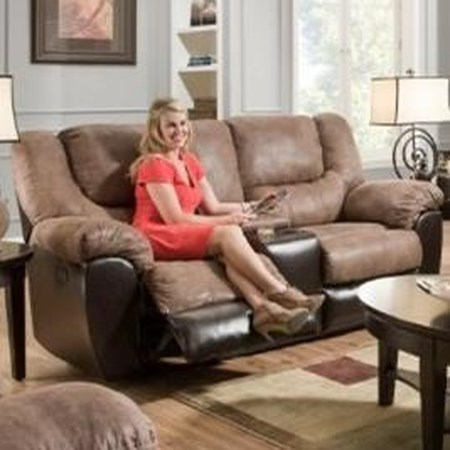 Power Double Motion Console Loveseat