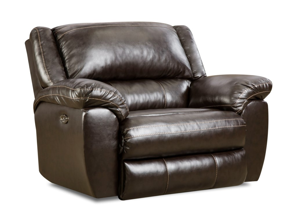 Simmons Upholstery 50433BRPower Cuddler Recliner