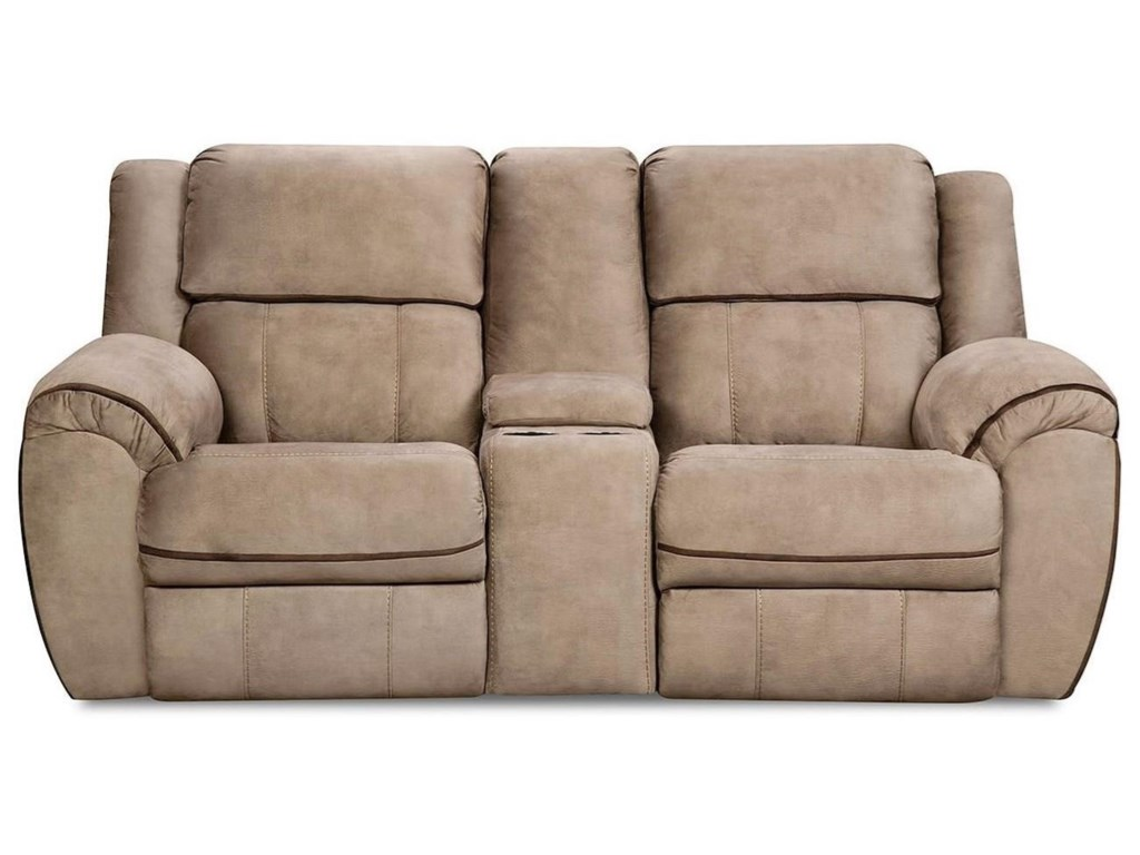 United Furniture Industries 50436BRReclining Console Loveseat