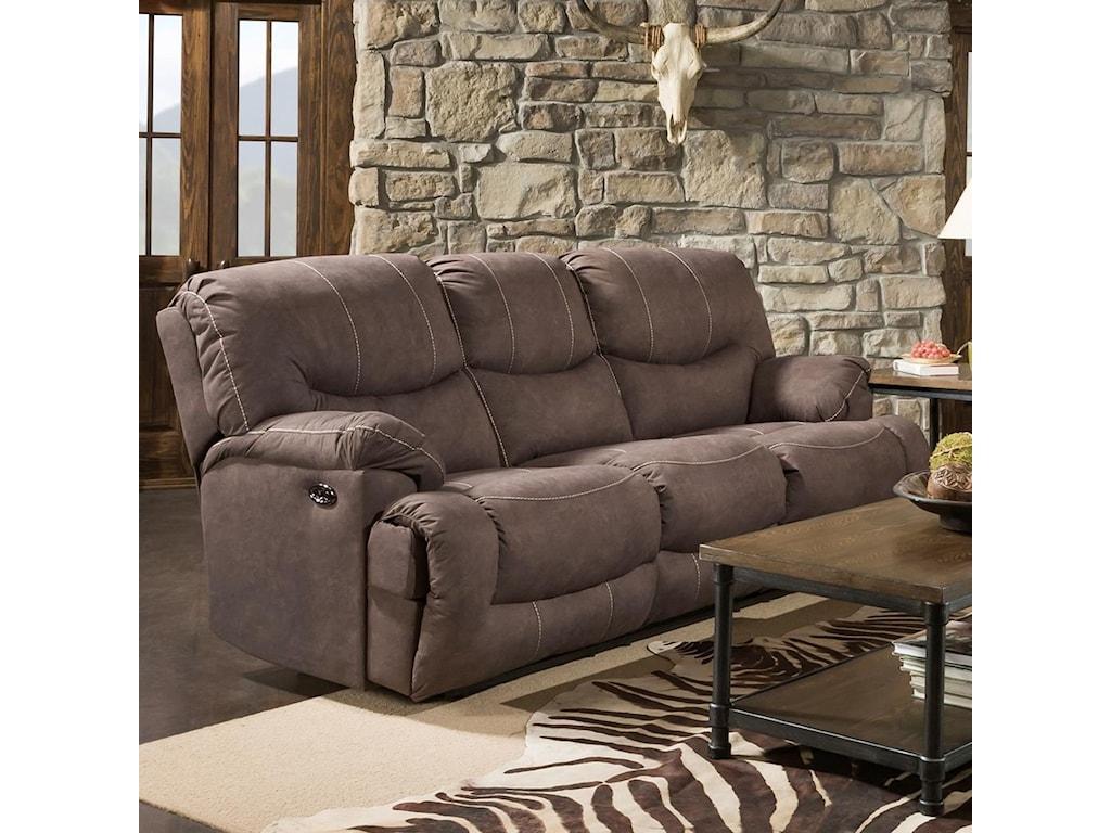 Blue Hill 50455BRDouble Reclining Sofa