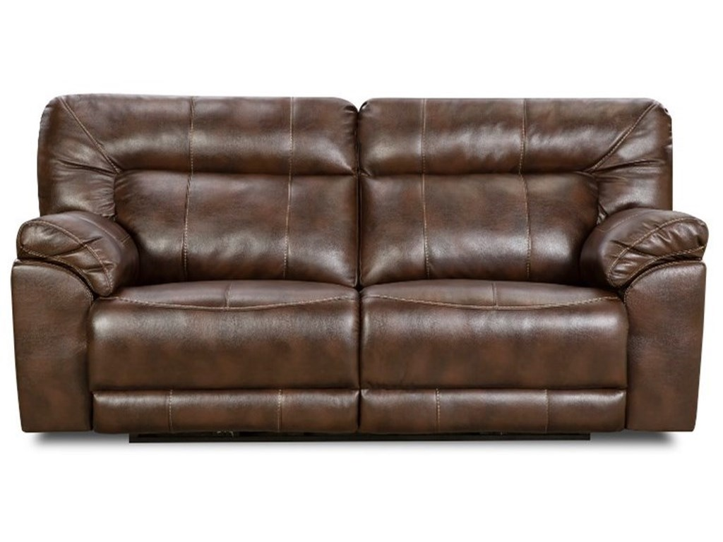 United Furniture Industries 50571br Double Motion Sofa