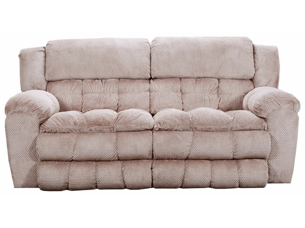 United Furniture Industries 50580BRPower Double Motion Sofa