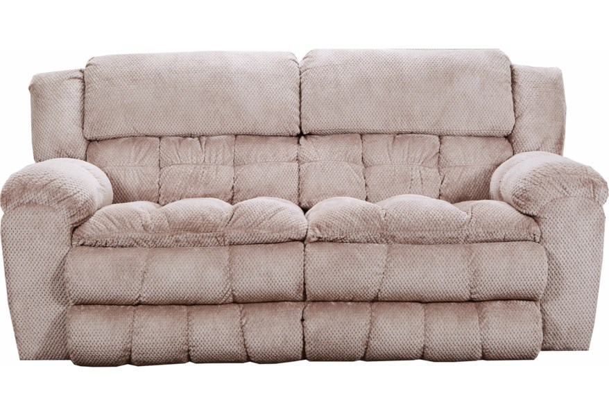 Simmons Upholstery 50580br 50580pbr 53 Casual Power Double