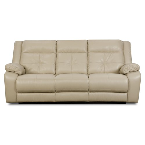 United Furniture Industries 1720 Sofa: United Furniture Industries 50590 Casual Double Motion