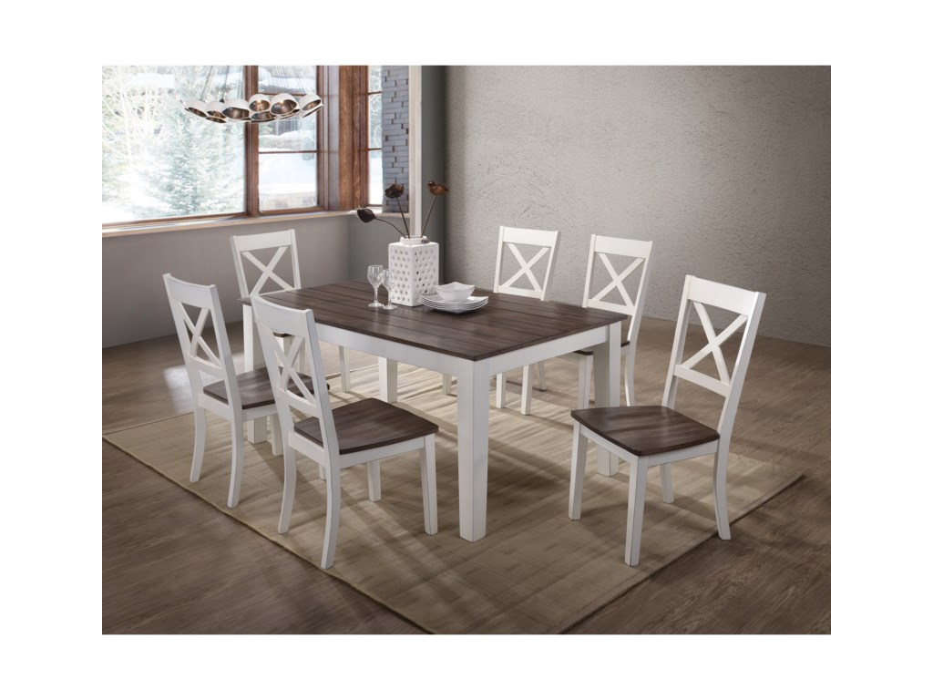 United Furniture Industries 50577 Piece Table and Chair Set