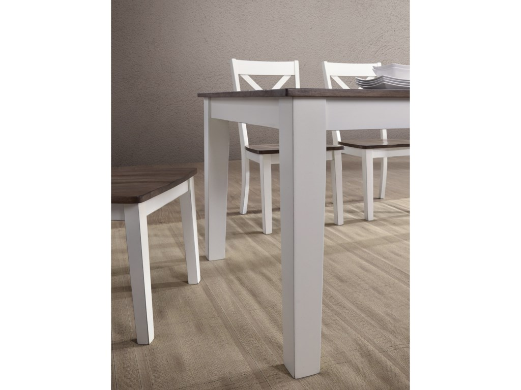 United Furniture Industries 5057Rectangular Dining Table