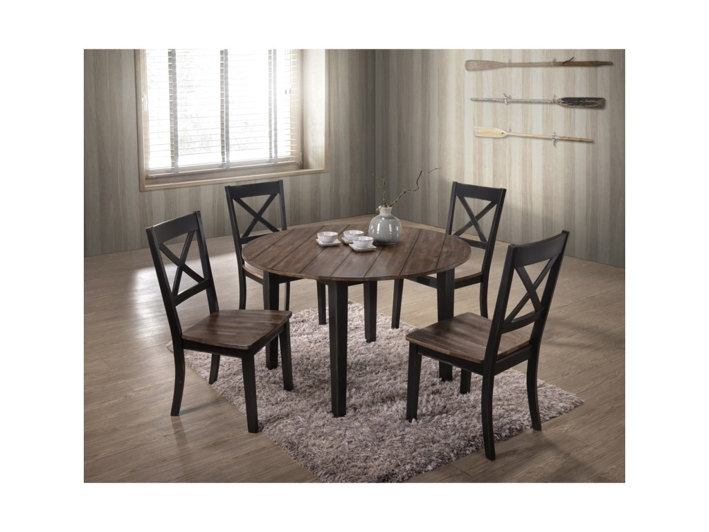 United Furniture Industries 50585 Piece Table and Chair Set