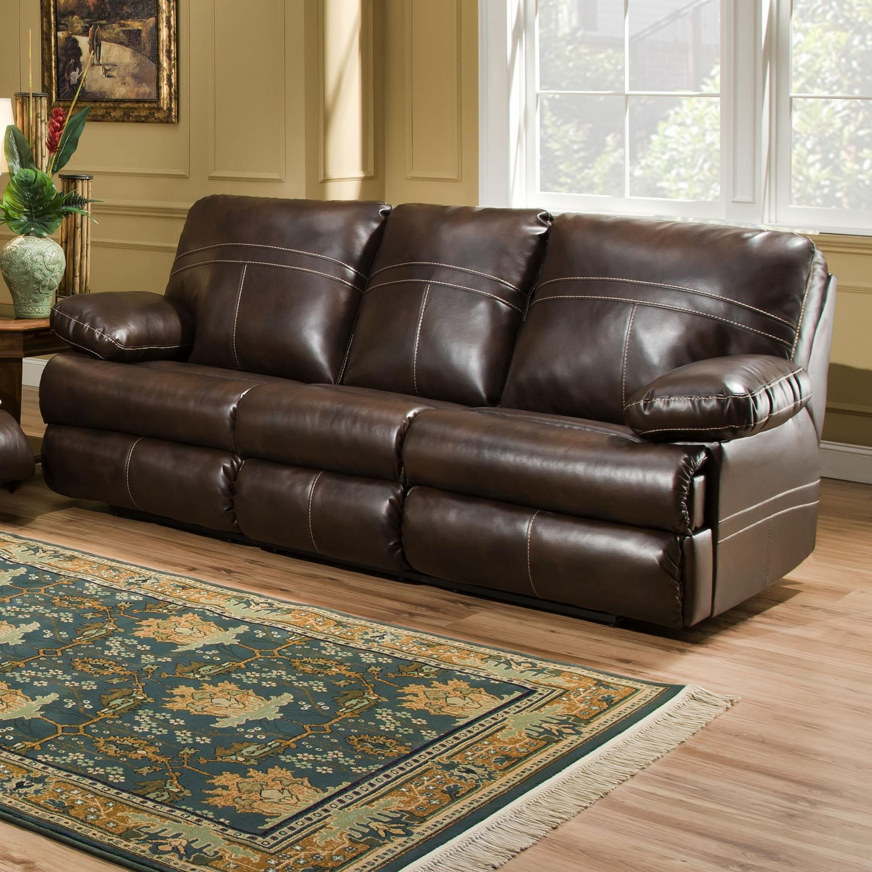 Simmons Upholstery 50981Double Motion Sofa ...