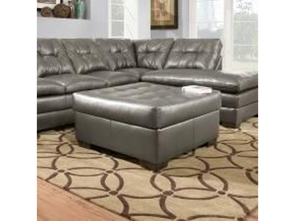 Simmons Upholstery 5122Transitional Cocktail Ottoman