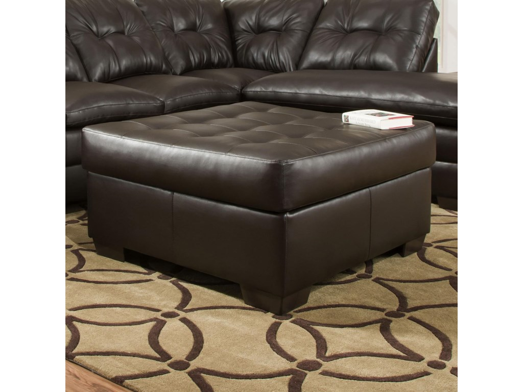 United Furniture Industries 5122Transitional Cocktail Ottoman