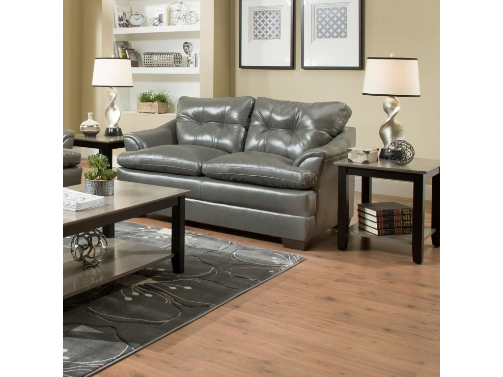 Simmons Upholstery 5122Casual Loveseat