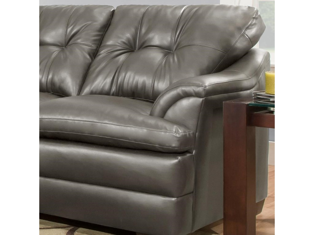 Simmons Upholstery 5122Sectional Sofa with Chaise