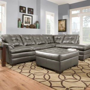 Simmons Upholstery 5122Transitional Sectional Sofa