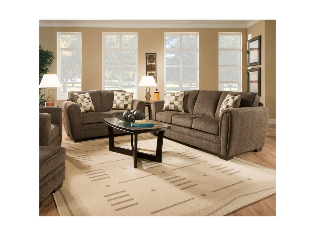 United Furniture Industries 5154Stationary Living Room Group