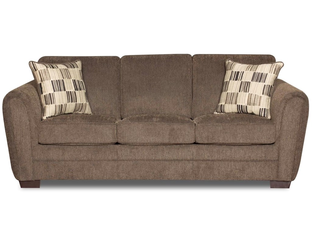 United Furniture Industries 5154Casual Queen Sleeper Sofa