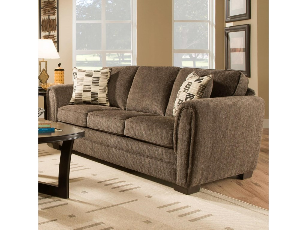 United Furniture Industries 5154Casual Stationary Sofa