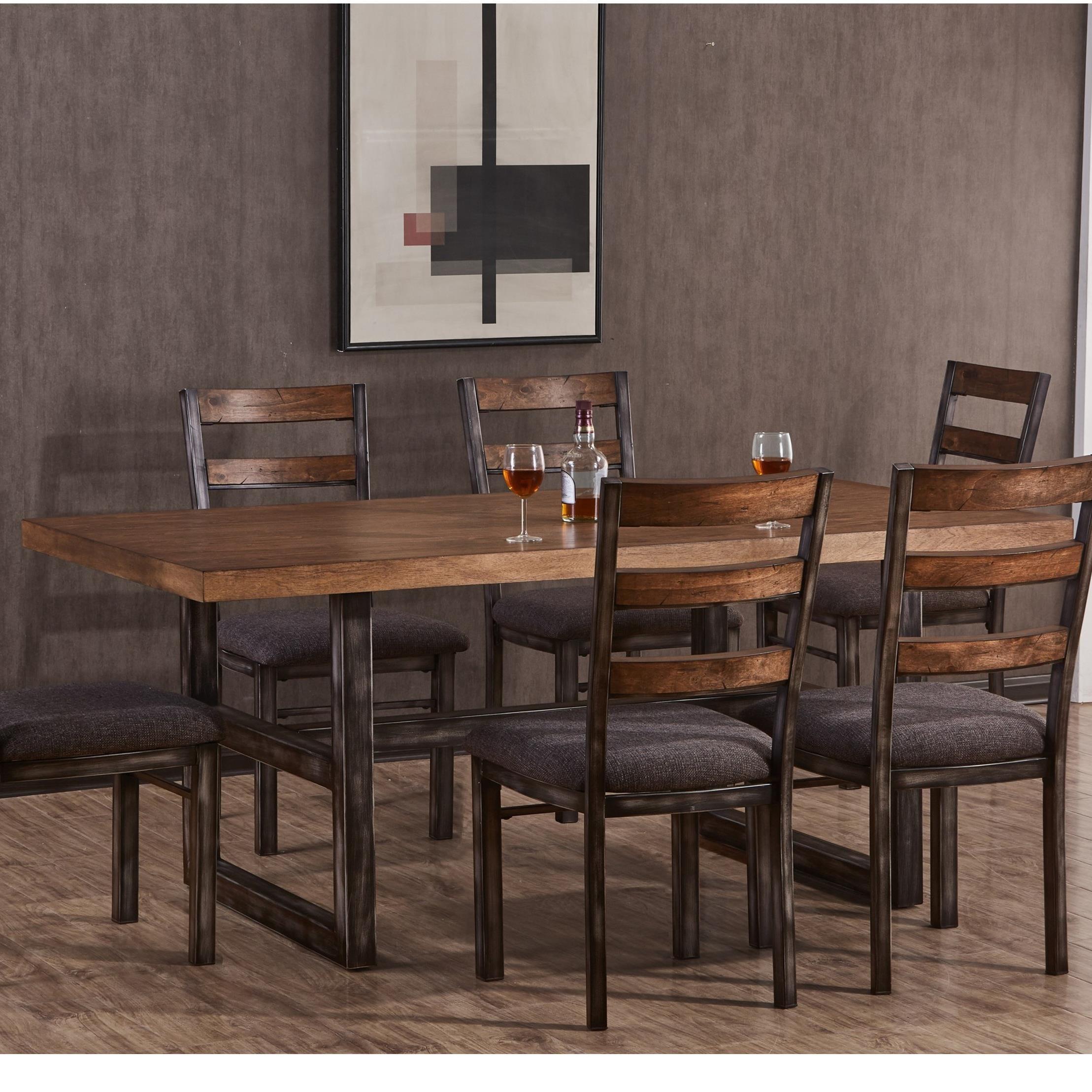 Simmons Upholstery ChandlerDining Table ...