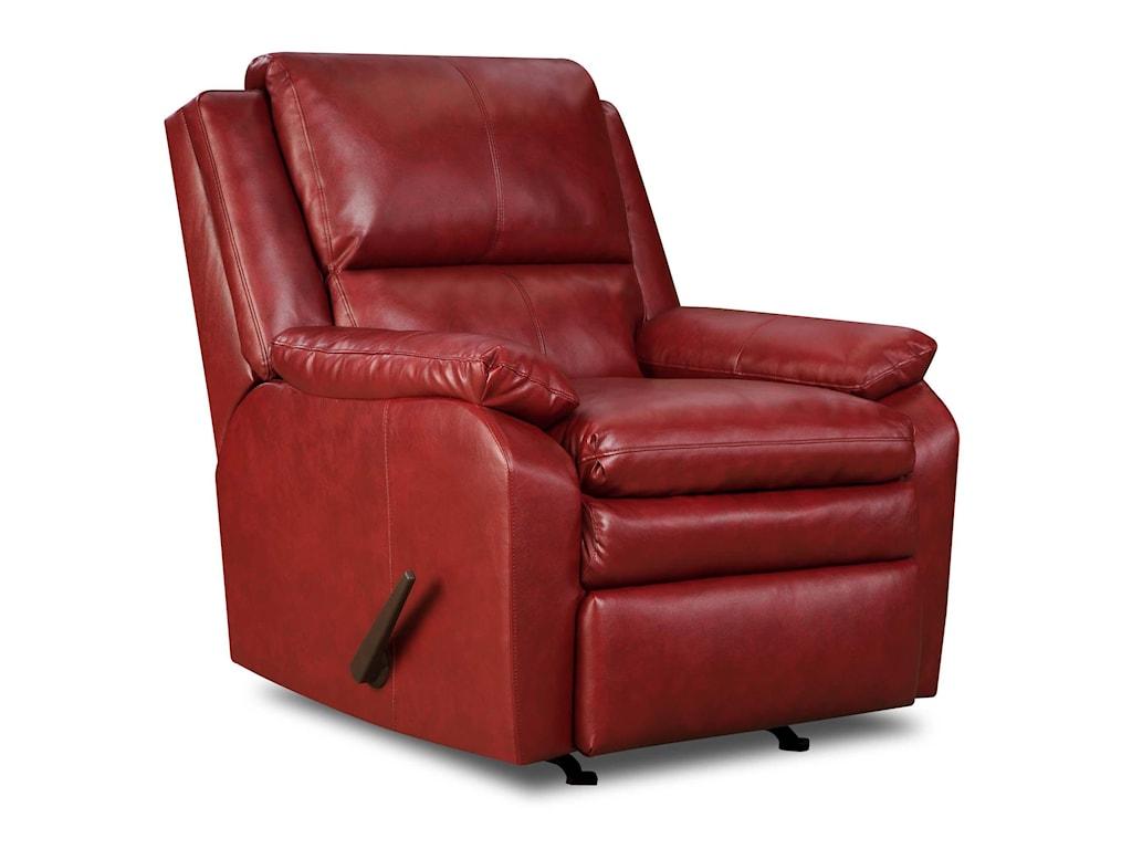United Furniture Industries 566Casual Rocker Recliner
