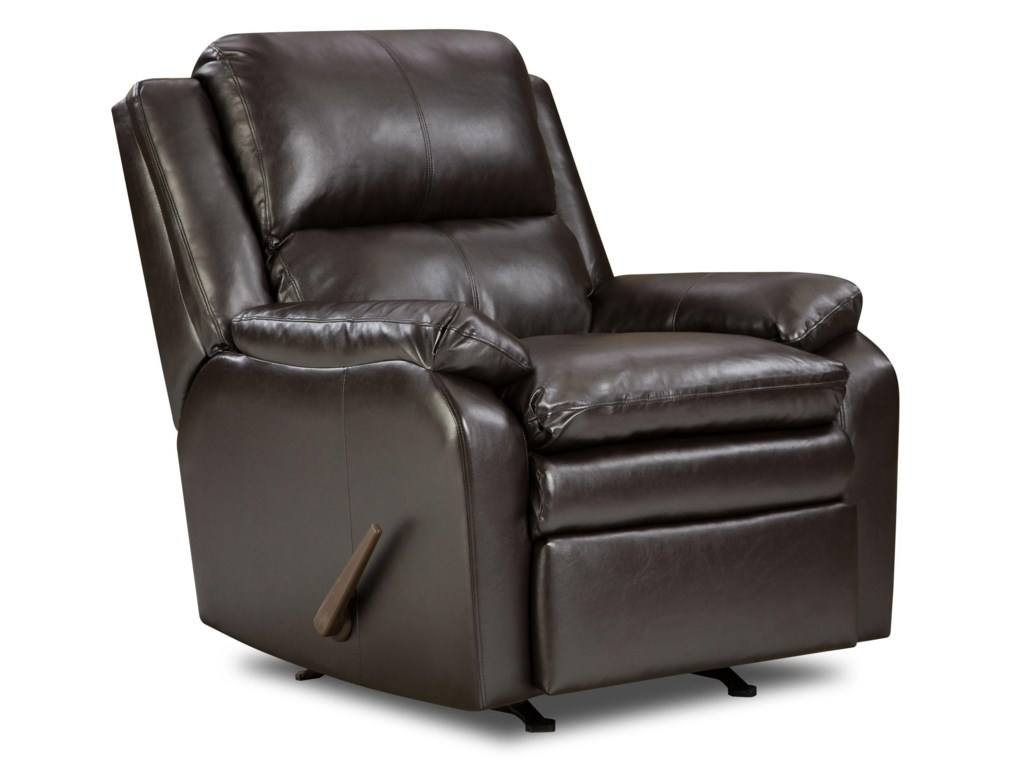 United Furniture Industries 566Casual Rocker Recliner