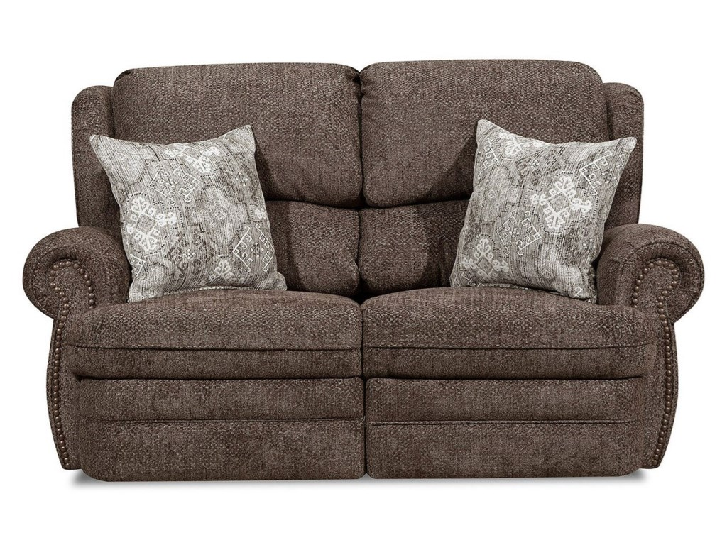 United Furniture Industries 57000Power Reclining Loveseat