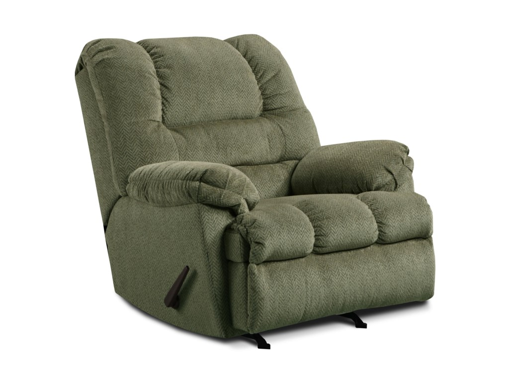 United Furniture Industries 600Casual Oversized Power Rocker Recliner