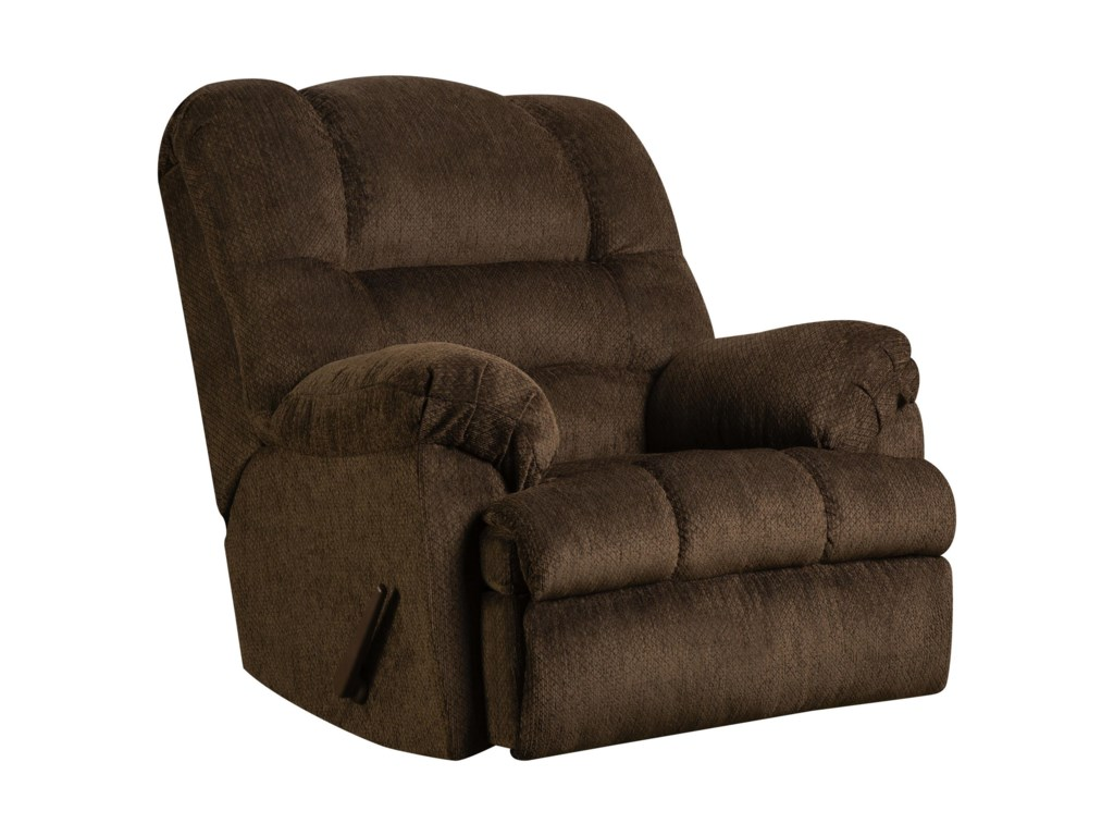 Simmons Upholstery 600 MCasual Oversized Power Rocker Recliner