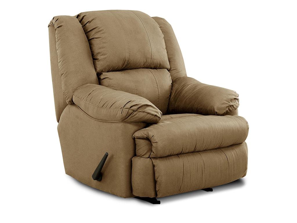 United Furniture Industries 604Casual Rocker Recliner