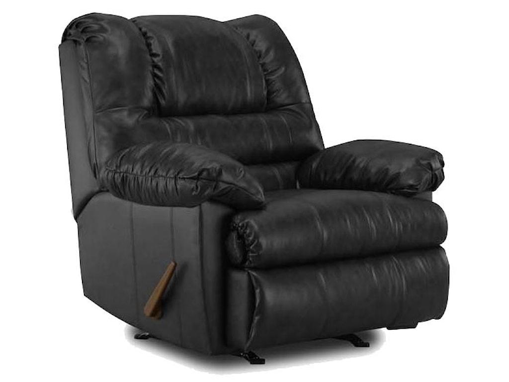 Simmons Upholstery 6152Rocker Recliner