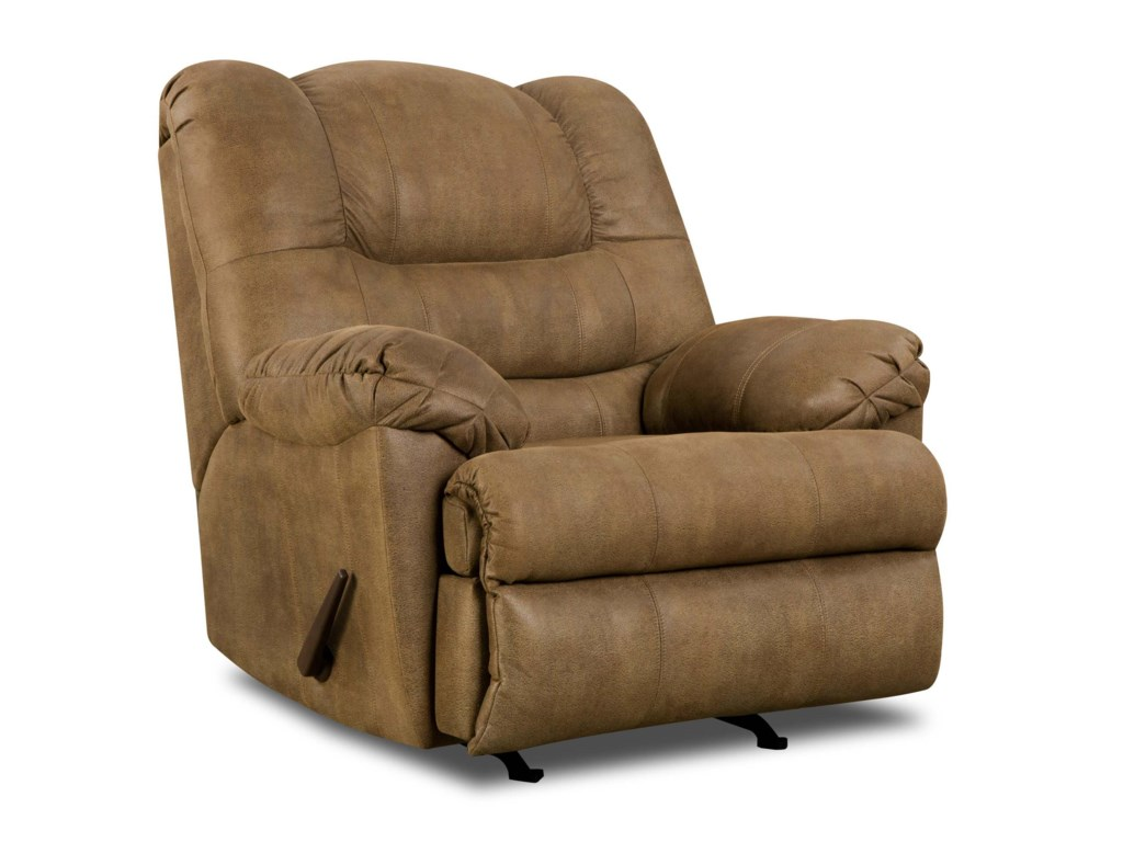 United Furniture Industries 619Casual Rocker Recliner