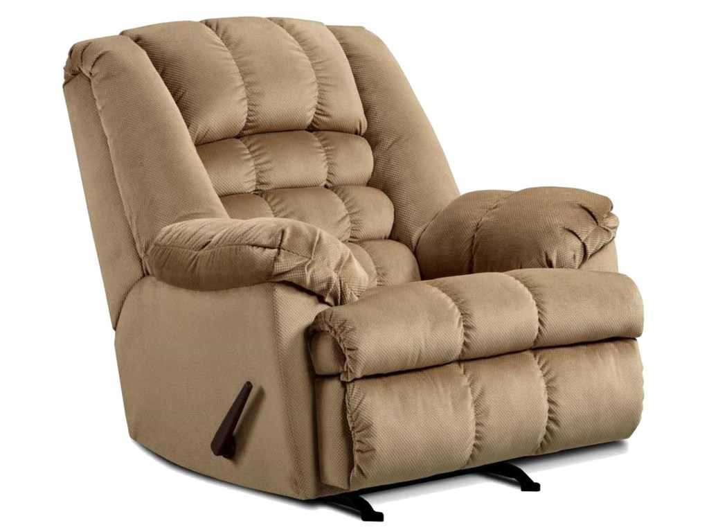 United Furniture Industries 622Casual Rocker Recliner