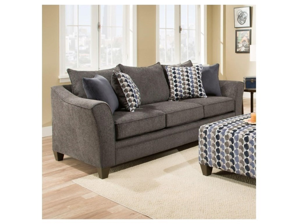 United Furniture Industries 6485Transitional Queen Slepper Sofa