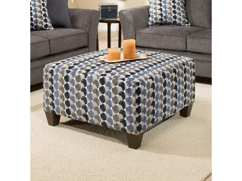 United Furniture Industries 6485Cocktail Ottoman