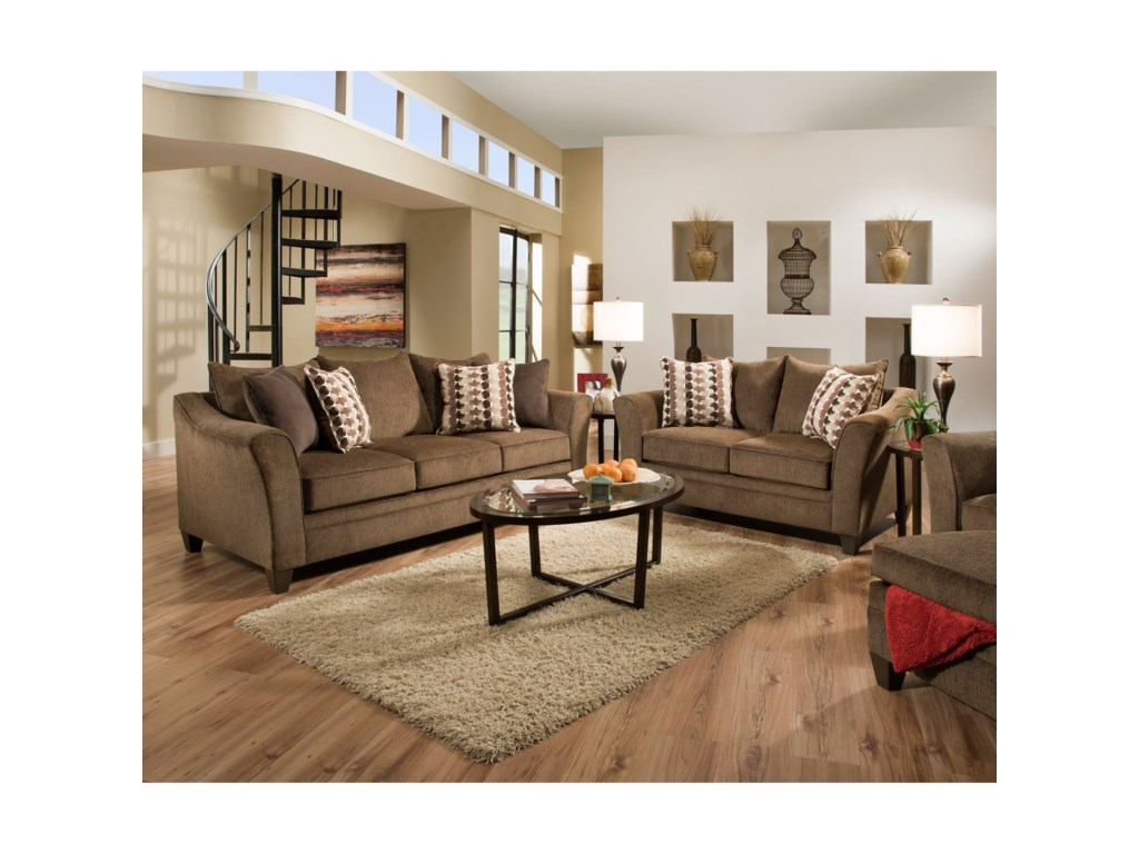 United Furniture Industries 6485Living Room Group