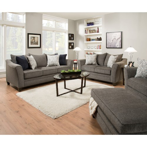 United Furniture Industries 6485 Living Room Group