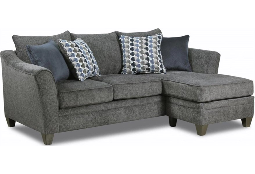 6485 03sc Transitional Sofa Chaise