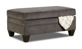 United Furniture Industries 6485Transitional Storage Ottoman