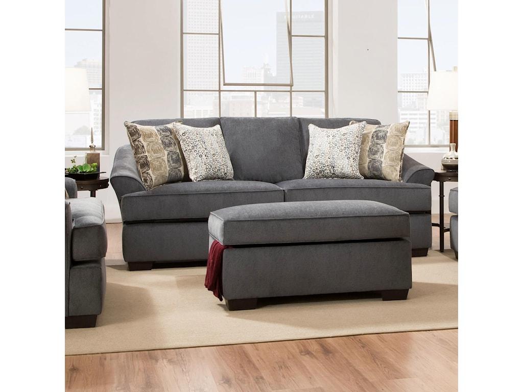 Simmons Upholstery 6522Casual Sofa