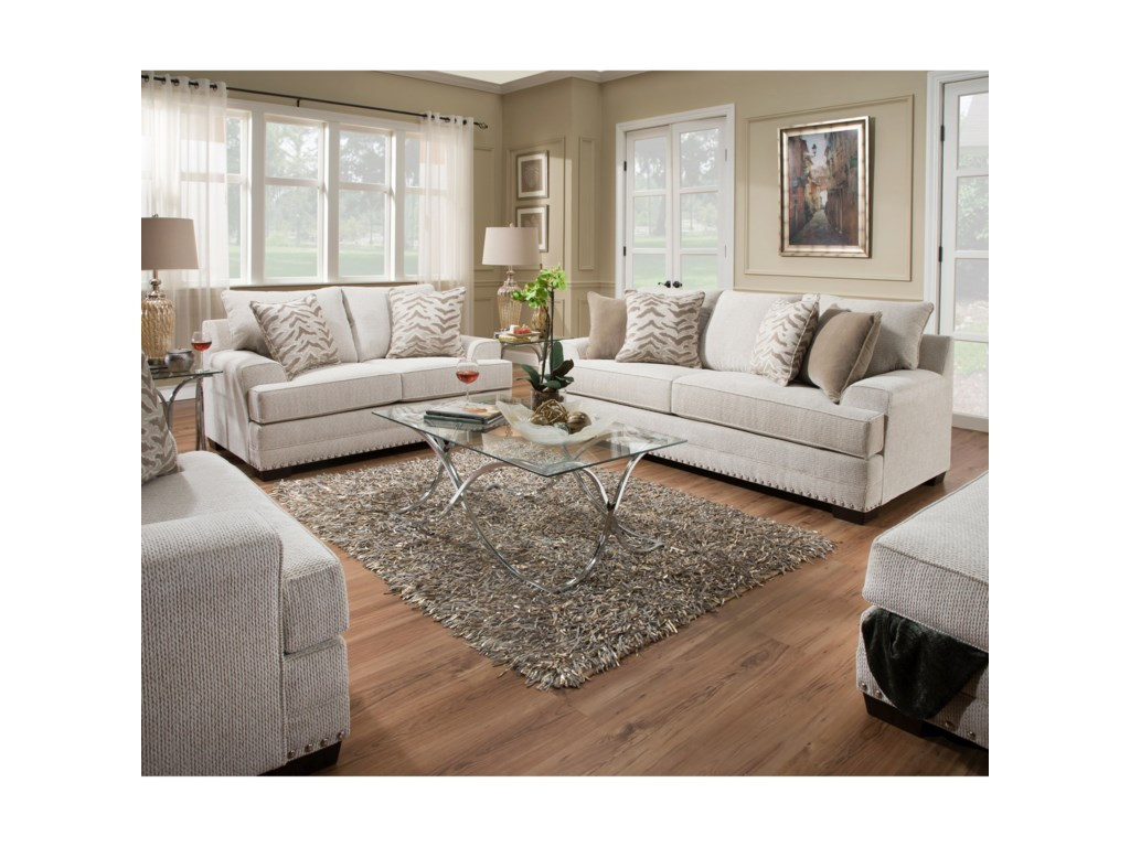 United Furniture Industries 6547BRLove Seat