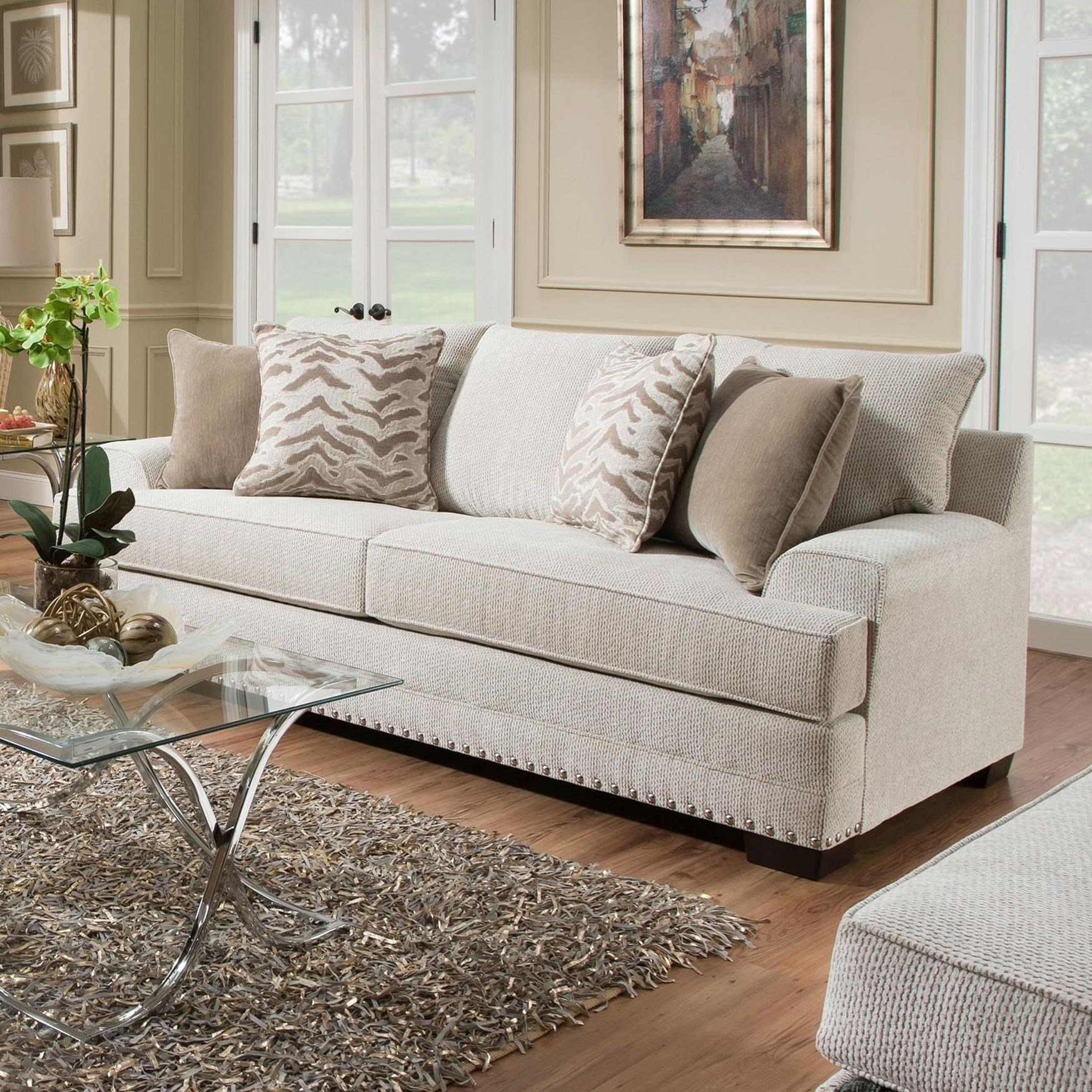 United Furniture Industries 6547BRSofa ...