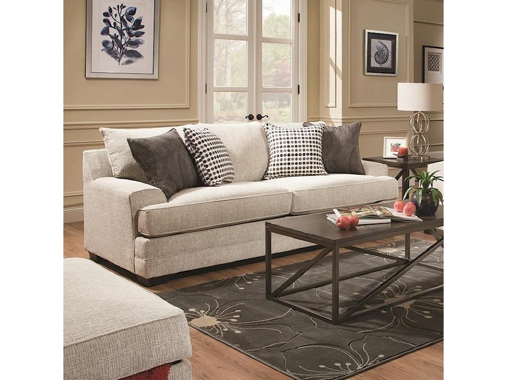United Furniture Industries 6548Sofa