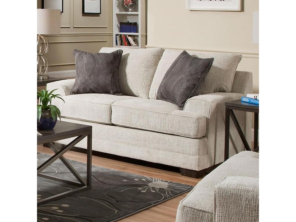 United Furniture Industries 6548BRLove Seat