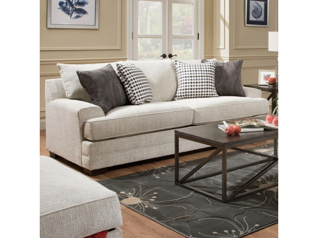 United Furniture Industries 6548BRSofa