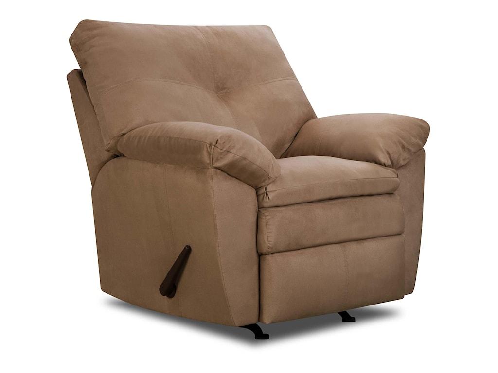 United Furniture Industries 656Casual Rocker Recliner