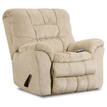 United Furniture Industries 678Heat and Massage Rocker Recliner
