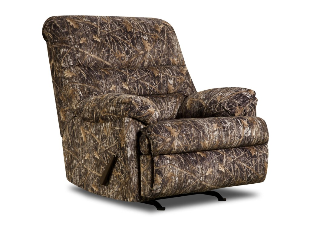 United Furniture Industries 683 UnitedCasual Rocker Recliner