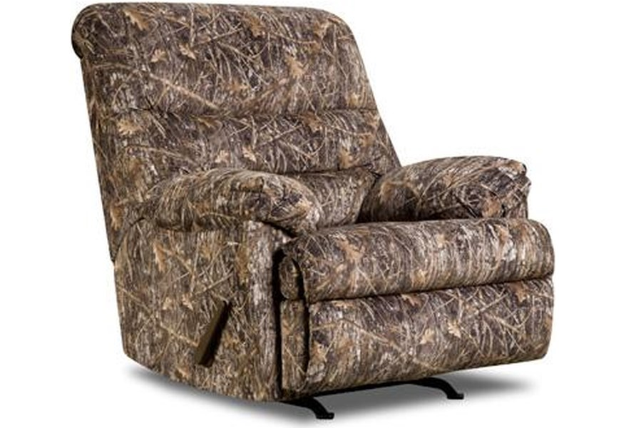 683 Camouflage Recliner