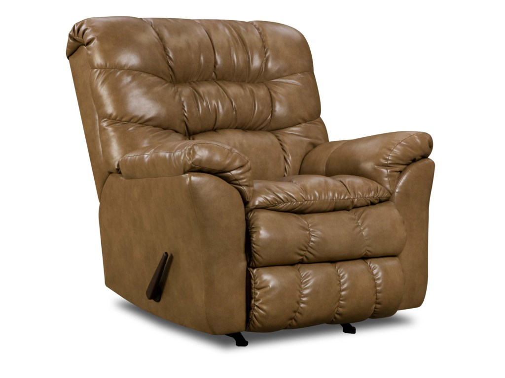 United Furniture Industries 689Casual Power Rocker Recliner