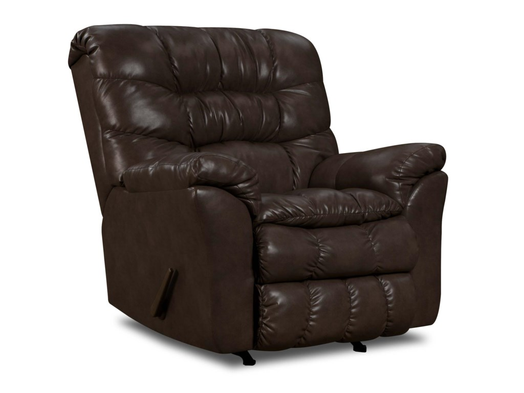 United Furniture Industries 689Casual Rocker Recliner