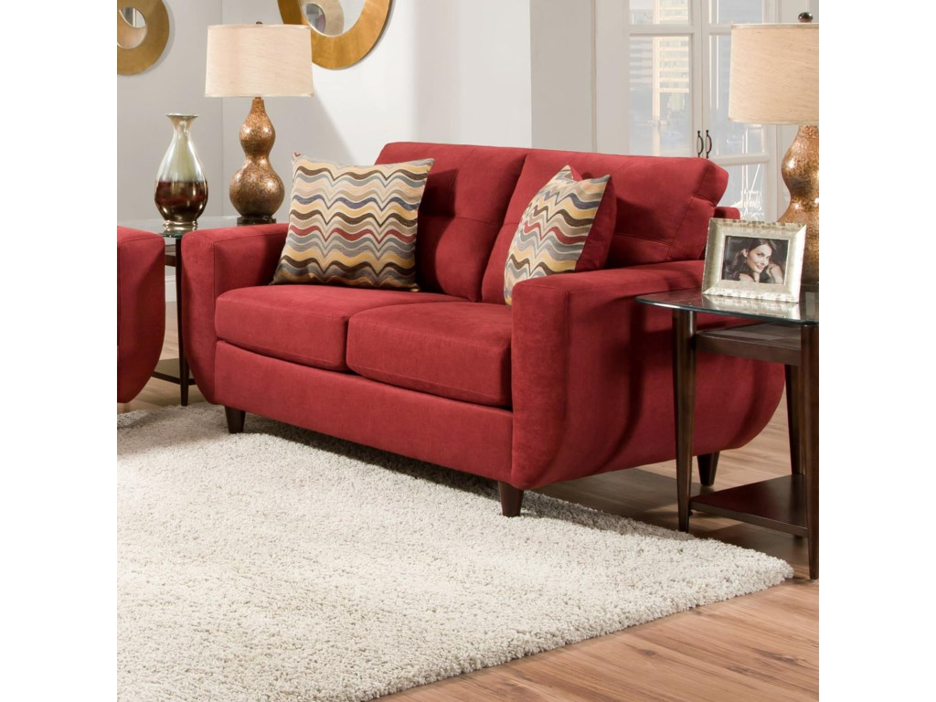 United Furniture Industries 6950Contemporary Loveseat
