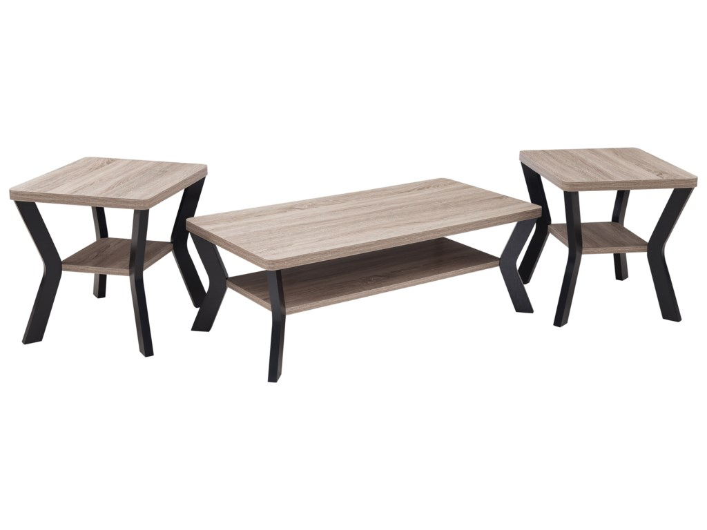 United Furniture Industries 70153 Piece Occasional Table Set